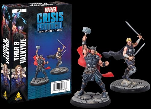 Marvel: Crisis Protocol – Thor and Valkyrie