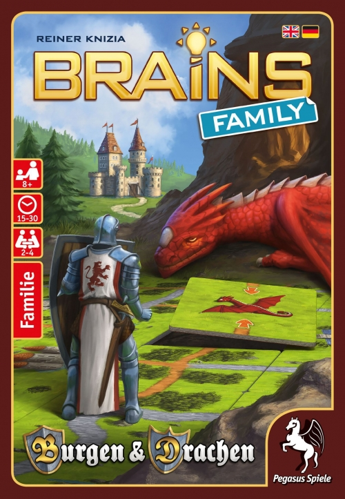 Brains Family: Castillos y Dragones
