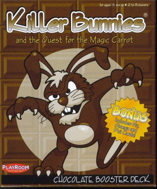 Killer Bunnies and the Quest for the Magic Carrot: Chocolate Booster