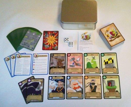 Siege: The Castle-Crashing Card Game of Medieval Mayhem