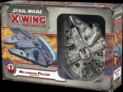 Star Wars: X-Wing Miniatures Game - Millennium Falcon Expansion Pack