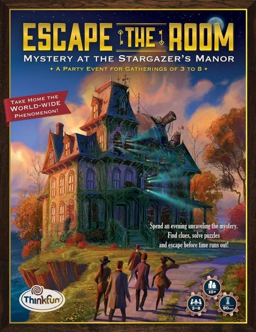 Escape the Room: Mystère au manoir de l'astrologue