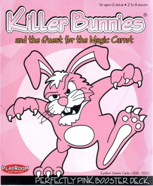 Killer Bunnies and the Quest for the Magic Carrot Perfectly PINK Booster