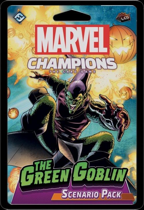 Marvel Champions: El Juego de Cartas – El Duende Verde Pack de Escenarios