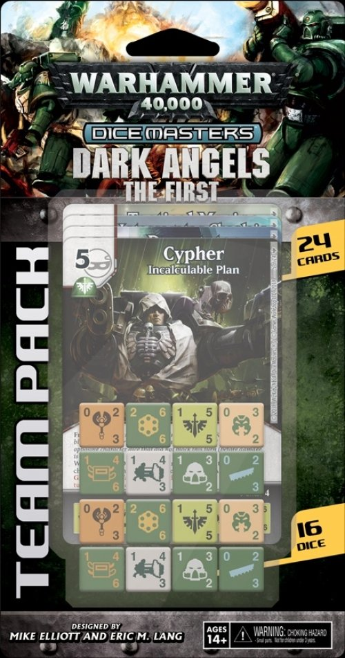 Warhammer 40,000 Dice Masters: Dark Angels – The First Team Pack