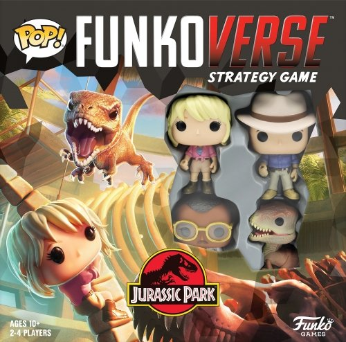 Funkoverse Strategy Game: Jurassic Park 100