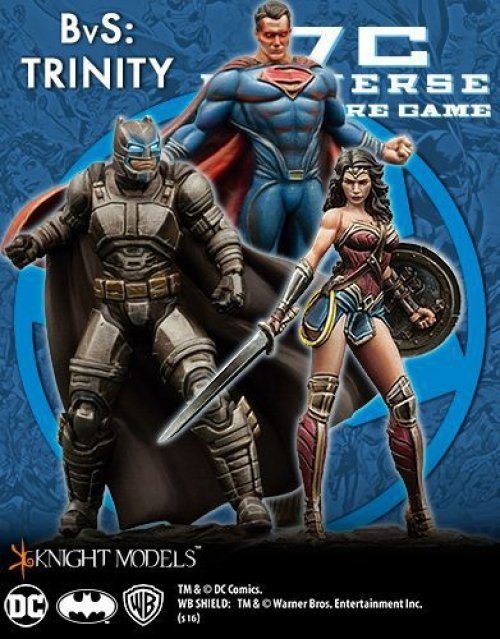 DC Universe Miniature Game: Batman V Superman Trinity Starter Set