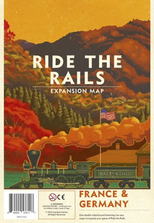 Ride the Rails: France & Germany
