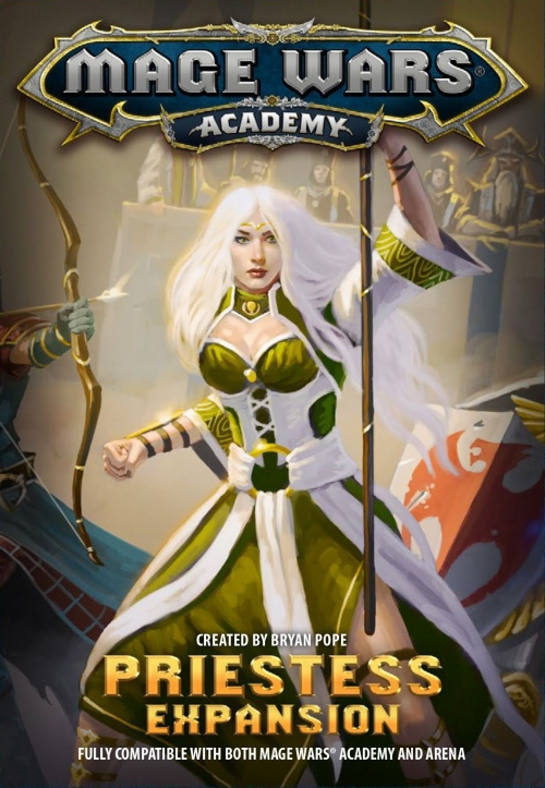 Mage Wars: Academy – Priestess Expansion