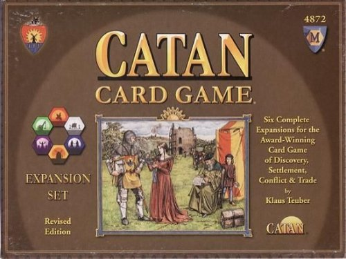 The Settlers of Catan Card Game Expansions