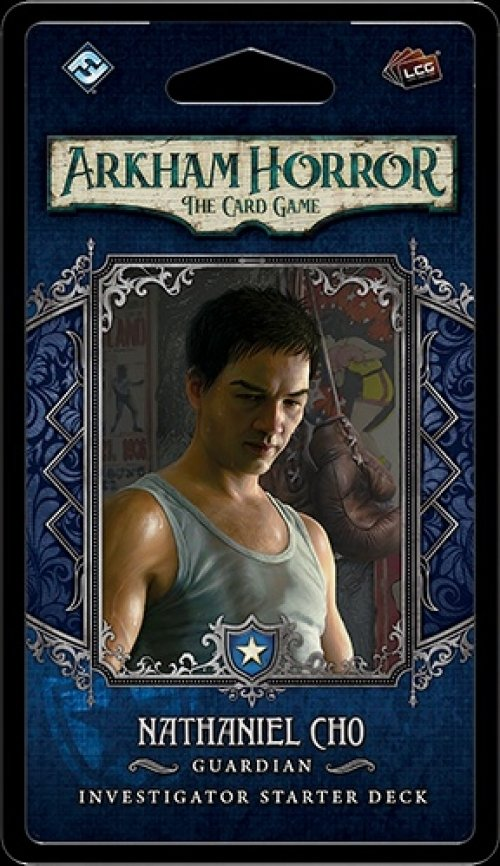 Arkham Horror: The Card Game – Nathaniel Cho: Investigator Starter Deck