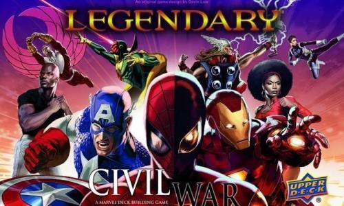 Legendary: A Marvel Deck Building Game – Civil War