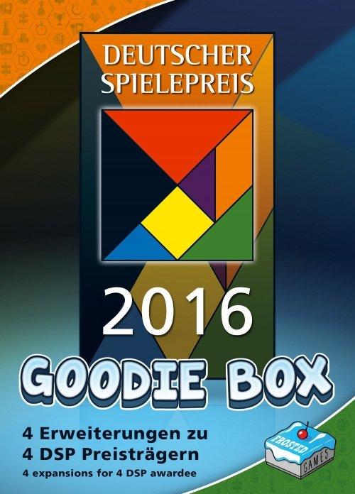 Deutscher Spiele-Preis 2016 Goodie Box