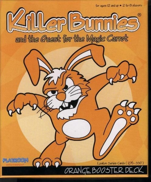Killer Bunnies and the Quest for the Magic Carrot ORANGE Booster