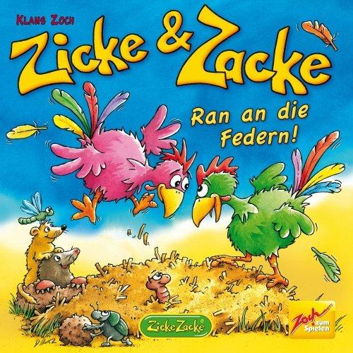 Zicke & Zacke: Ran an die Federn