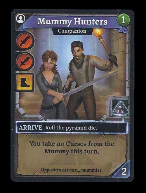 Clank!: The Mummy's Curse – Mummy Hunters