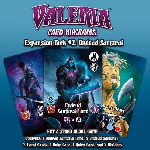 Valeria: Card Kingdoms – Expansion Pack #02: Undead Samurai