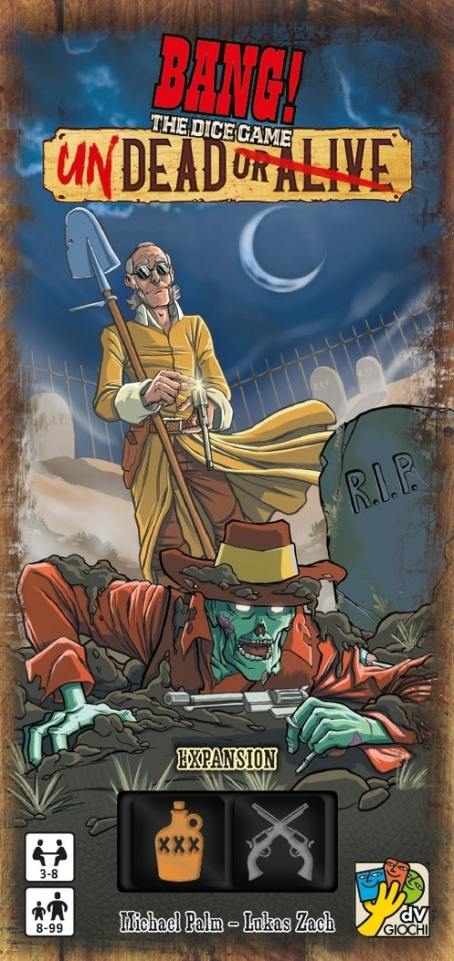 BANG! The Dice Game: Undead or Alive