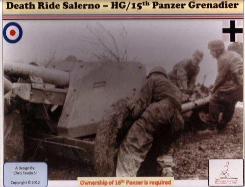 Death Ride Salerno: Herman Goring/15th Panzer Grenadier
