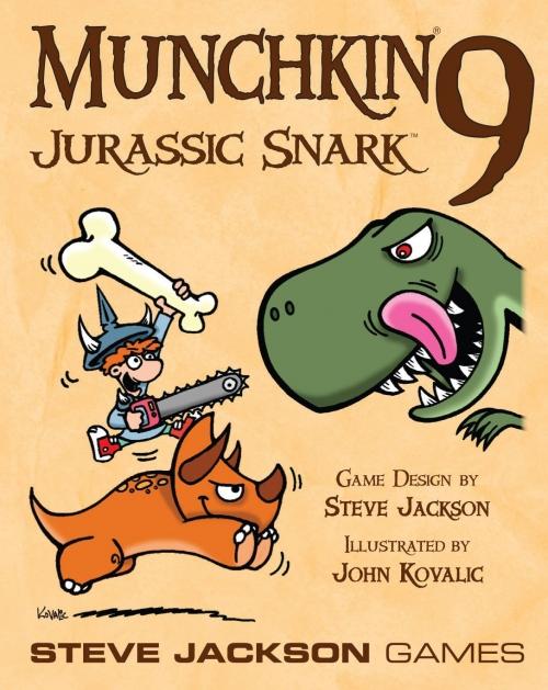Munchkin 9: Jurassic Snark