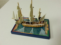 Sails of Glory Ship Pack: Petit Annibal 1782 / Leander 1798