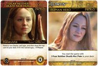 The Lord of the Rings: The Two Towers Deck-Building Game – Éowyn Promos