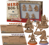 Zombicide: Black Plague – Hero Box 1