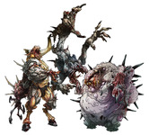 Zombicide: Black Plague Zombie Bosses