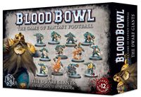 Blood Bowl (2016 edtion): Dwarf Giants