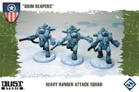 Dust Tactics: Heavy Ranger Attack Squad -