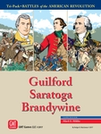 Tri-Pack: Battles of the American Revolution – Guilford, Saratoga, Brandywine