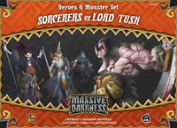 Massive Darkness: Heroes & Monster Set – Sorcerers vs Lord Tusk
