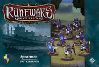 Runewars Miniatures Game: Spearmen – Unit Expansion