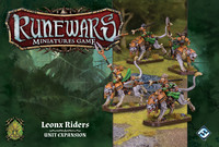 Runewars Miniatures Game: Leonx Riders – Unit Expansion